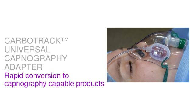 Rapid conversion to capnography capable products