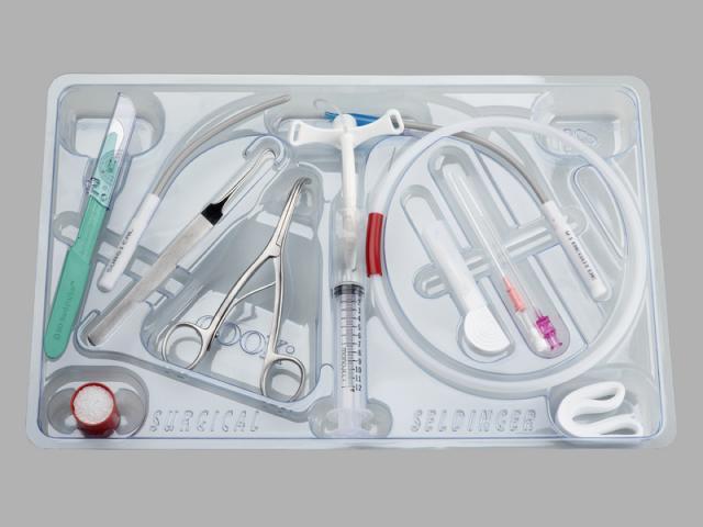 Melker Universal Emergency Cricothyrotomy Catheter Set